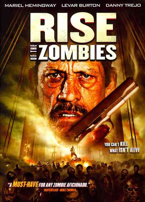 RISE OF THE ZOMBIES BY HEMINGWAY,MARIEL (DVD)