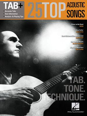 25 Top Acoustic Songs - Tab. Tone. Technique. By Hal Leonard Publishing Corporation (COR)