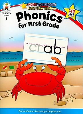 Phonics for First Grade By Carson-dellosa Publishing (COR)